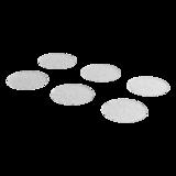 SecuCare Anti-slip sticker badkamer rond transparant 15 stuks Oprijplaza