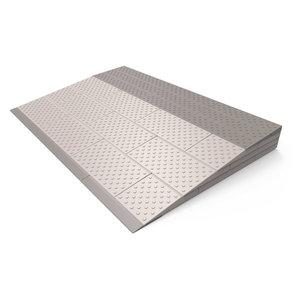 SecuCare Drempelhulp, Grijs/Bruin, Set 4 laags, 570x840 mm