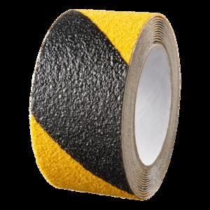 SecuCare Anti-slip sticker op rol 3m zwart/geel Oprijplaza