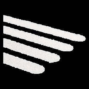 Secucare Anti-slip sticker traptrede langwerpig wit 15 stuks Oprijplaza