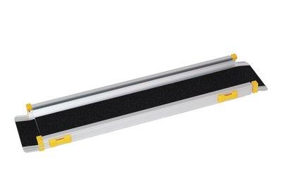 Oprijplaat - uitschuifbaar - 90 > 150 cm